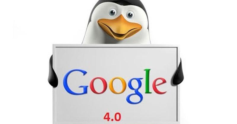الگوریتم پنگوئن ۴ گوگل