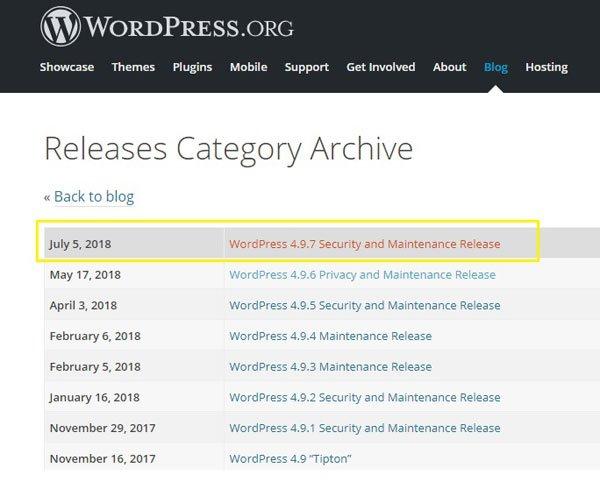 باگ امنیتی خطرناک در نسخه 4.9.6 وردپرس