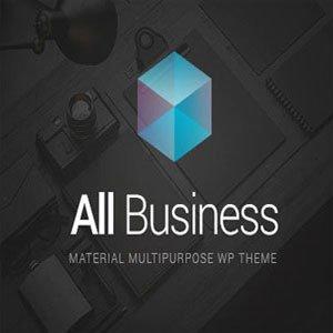 قالب وردپرس شرکتی فوق حرفه ای تجارت All business