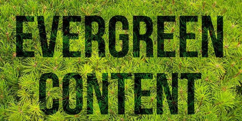 چگونه محتوای همیشه سبز تولید کنیم؟