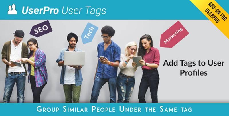 افزودنی برپچسب گذاری کاربران Tags add-on for UserPro