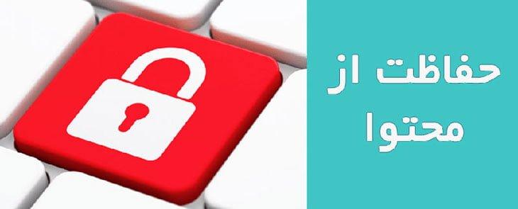 افزونه حفاظت از محتوا | WP Content Protection Manager