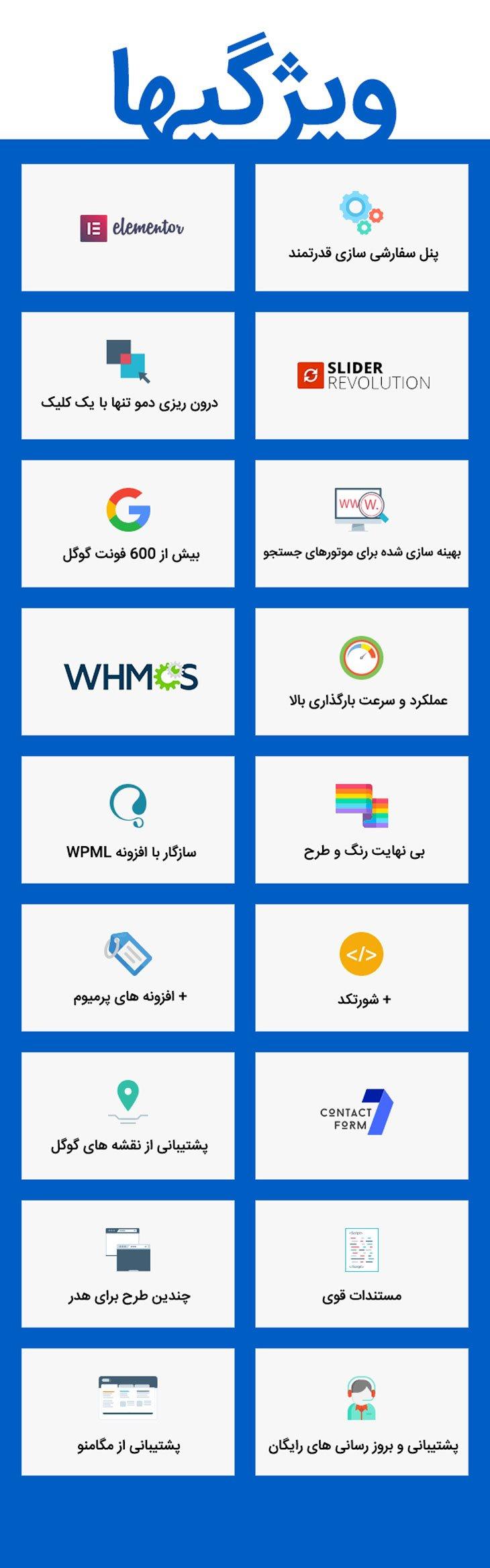قالب هاستینگ هاستینزا Hostinza | همراه با WHMCS